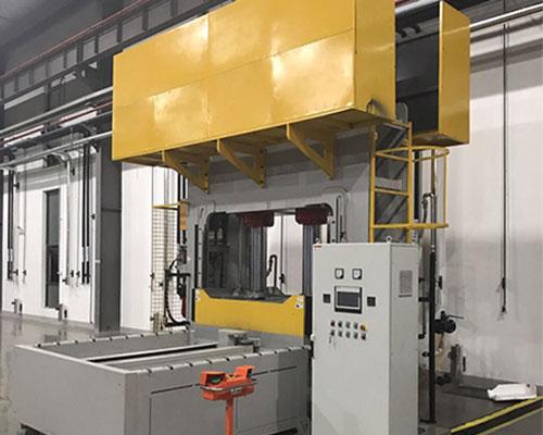 碳纤维专用压机